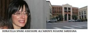 ASSESSORE AMBIENTE SARDEGNA DONATELLA SPANO
