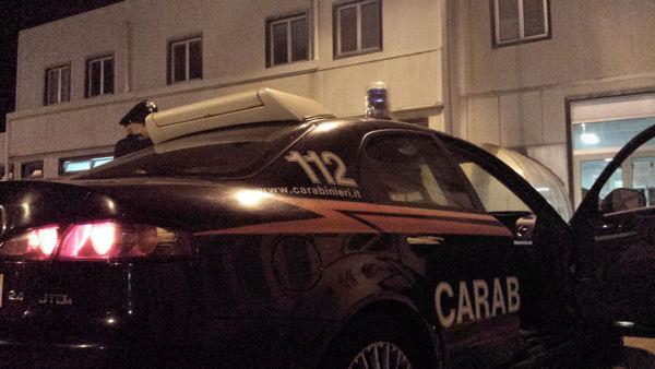 auto carabinieri sassari