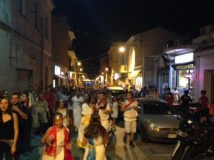 carnevale estivo Olbia