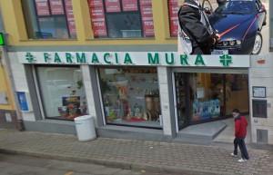 esterno farmacia mura di rapinata a capoterra