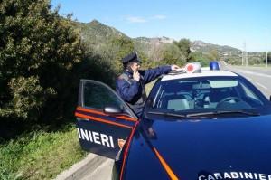 carabinieri di pattuglia nord Sardegna