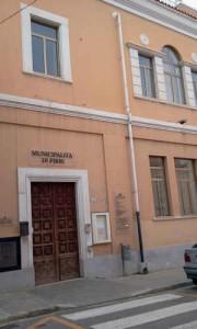 ingresso municipalita' di pirri