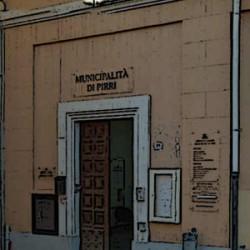 ingresso palazzo municipalita' di pirri