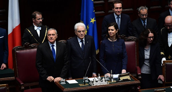 Trattati di roma il parlamento in seduta comune alla for Camera dei deputati on line