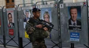 primo turno elezioni presidenziali francesi in un clima di paura