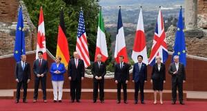 leader g7 a taormina