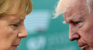 merkel e trump in disaccordo totale