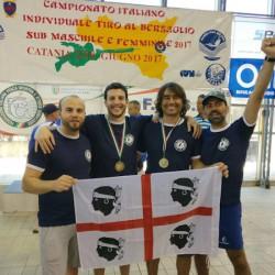 Tiro al Bersaglio Subacqueo_Sardegna sul podio