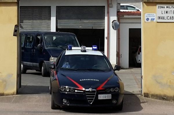 caserma compagnia carabinieri di carbonia