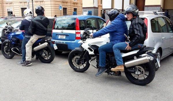 falchi della mobile della polizia di stato
