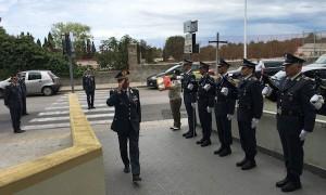 Gen Edoardo Valente in visita a Sassari