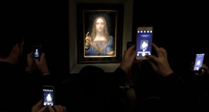 Per il Salvator Mundi di Leonardo pagato 450 milioni di dollari