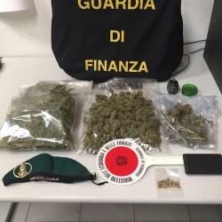 gdf sassari_ con droga sequestrata a padre e figlio