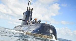 sottomarino argentino scompare nell'oceano Atlantica con circa 50 uomini a bordo