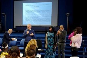Spanu Cagliari incontro con studenti su accoglienza migranti (