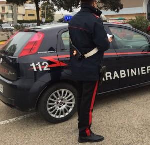 carabinieri e auto compagni acc cagliari
