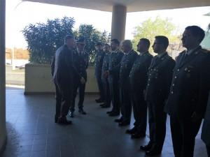 Nuovo questore sassari in visita al comando prov.le di ss della Gdf
