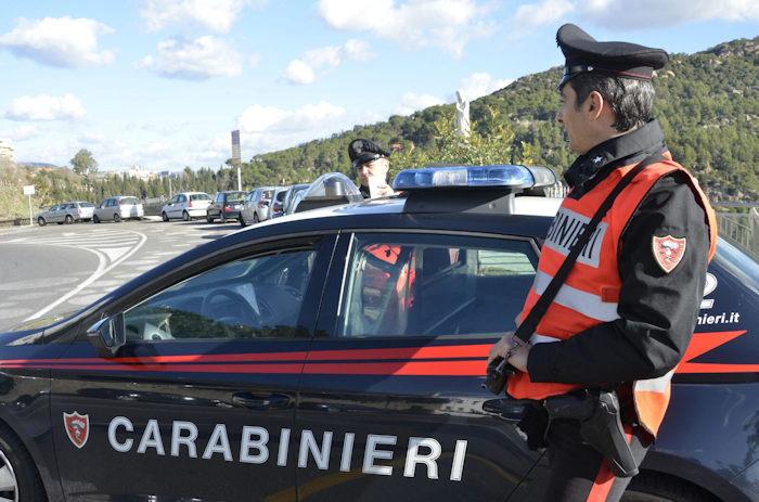 carabinieri in servizio del comando prov.le di Nu