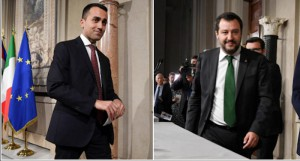 Di Maio e Salvini dopo incontro con mattarella