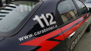 Livrea auto carabinieri