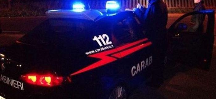 auto carabinieri nel nuorese