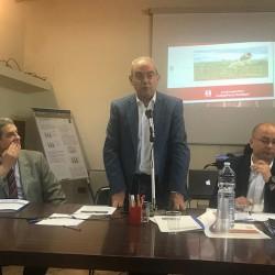 Assessore Urbanistica Cristiano Erriu a assemblea costituente di FedAgriPesca Sardegna