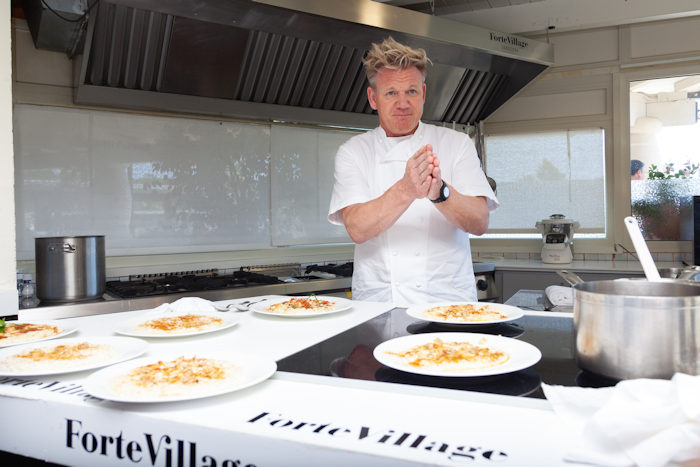 Gordon Ramsay & Friends a Forte village