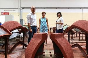 Piras in visita azienda produttrice forni a legna2