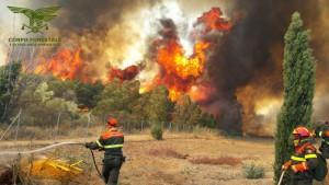 incendio Capo blu 09.08.16