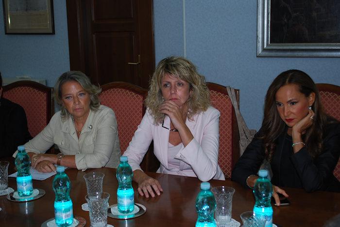 Ministro Barbara lezzi a Cagliari