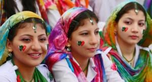 giovani ragazze del Pakistan