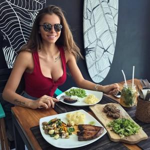 Nella foto la modella Viki Odintcova
