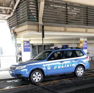 Polizia di frontiera aeroporto Cagliari