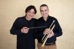 Simone Pittau e Vinicio Allegrini (foto Priamo Tolu)