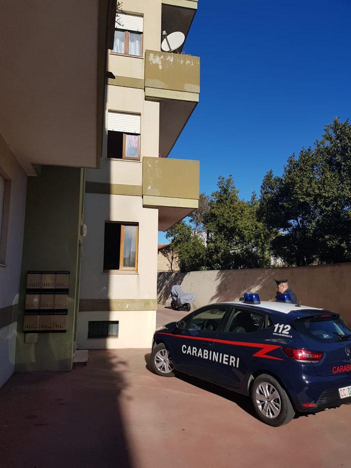 Carabinieri a Selargius per morte 63enne per esalazioni nocive