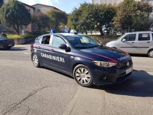 Gazzella carabinieri villacidro