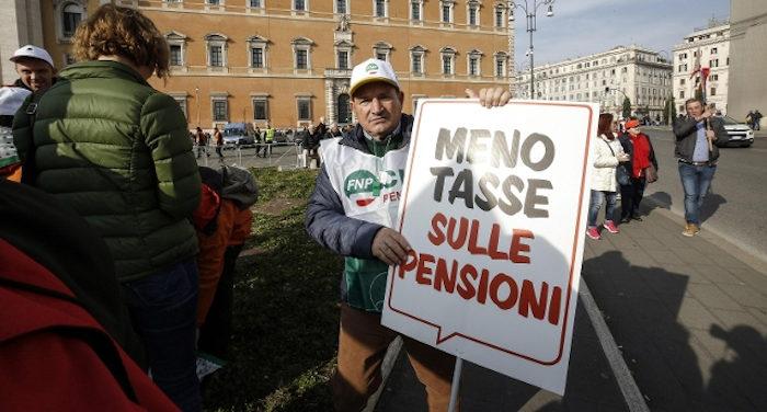 Sciopero generale a Roma contro il governo da parte di tutte le sigle sindacali