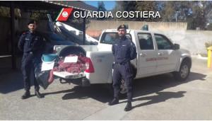 attivita' contro la pesca illegale dei militari della Guardia Costiera di Sarroch