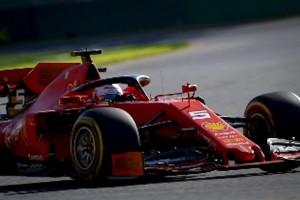 La nuova Ferrari al suo primo gp