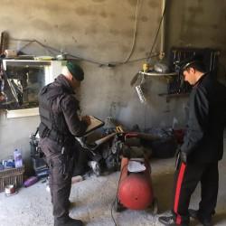 carabinieri e gdf cagliari sequestrano due officine abusive a Monserrato