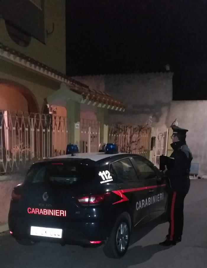 carabinieri stazione villasor su luogo rapina ad anziani