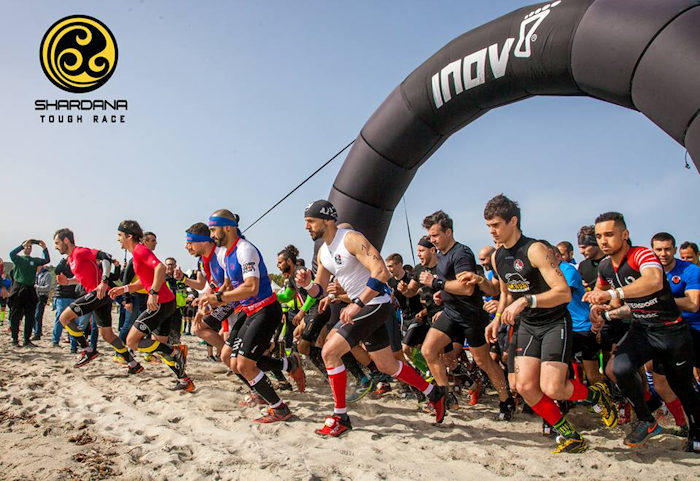 FOTO partenza TOUGH RACE