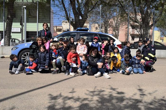 Polizia di Stato di Sassari a scuola per lezione sul codice della strada