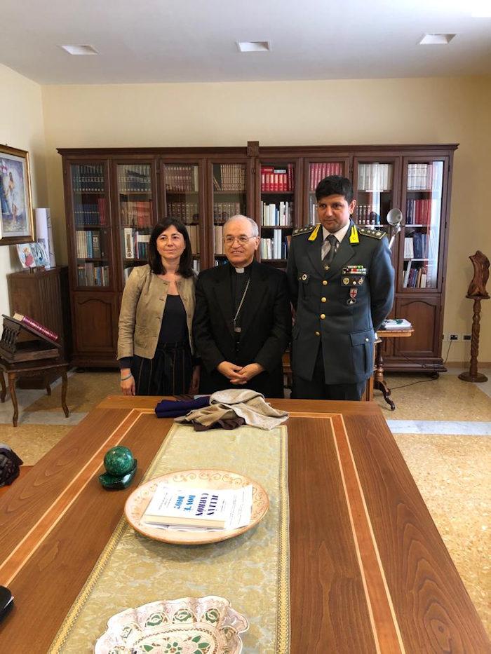 gdf olbia consegna capi sequestrati a Caritas