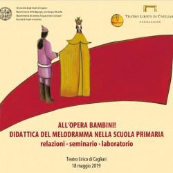 All'opera con i bambini al Teatro Lirico di Cagliari