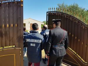 Carabinieri nas ca e compagnia cc di Villacidro chiudono scuola d'iinfanzia abusiva