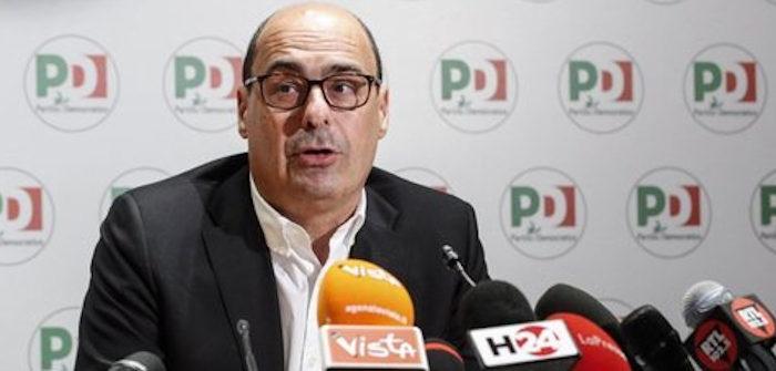 Nicola Zingaretti_segretario Pd commenta il buon risultato delle europee