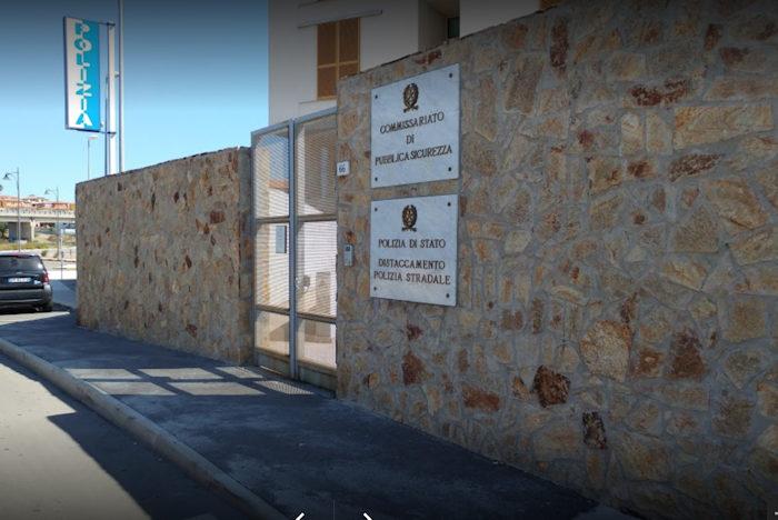 Sede commissariato di Polizia di Olbia
