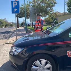 carabinieri San Teodoro a posto di blocco