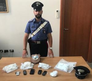 giovane di Cagliari arrestasto dai carabinieri perche' trovato con un chilo di eroina
